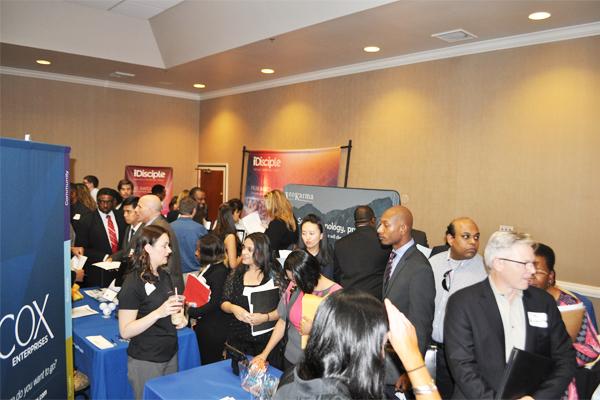 Atlanta, GA Tech Job Fair participants