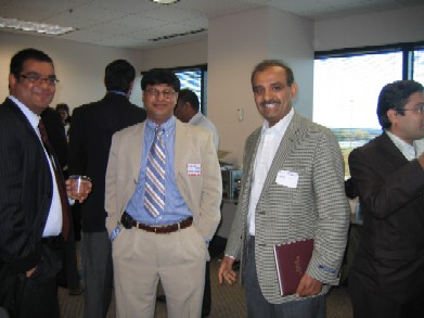 Business Networking at GA Event